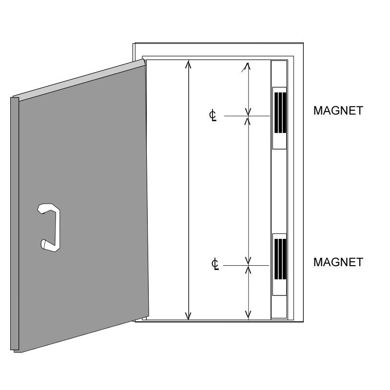 access control  door hardware genius  page 2 the illustration above is one i prepared for a customer so that i could order a custom built full height housing for two electromagnetic locks