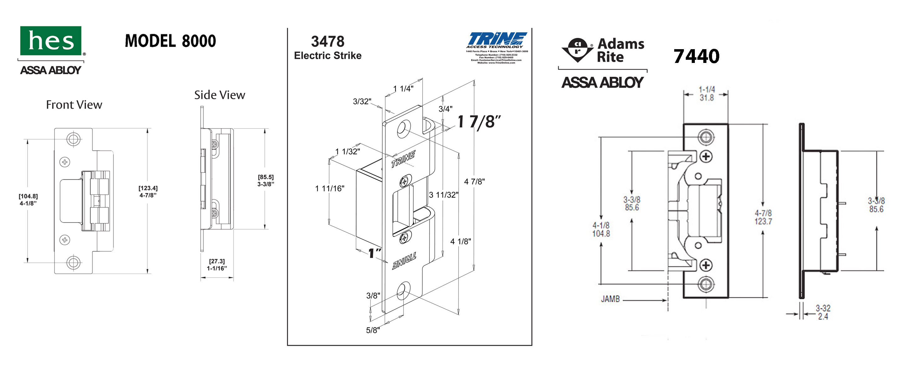 a strike door plate for communal adams block to fitted in an electric apartment rite pin